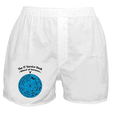 IT Wheel of Answers Boxer Shorts