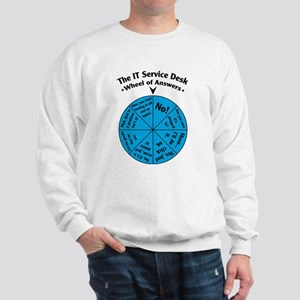 IT Wheel of Answers Sweatshirt