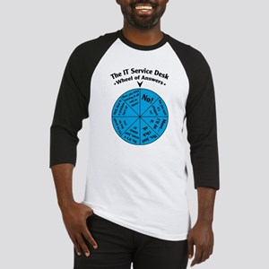 IT Wheel of Answers Baseball Jersey