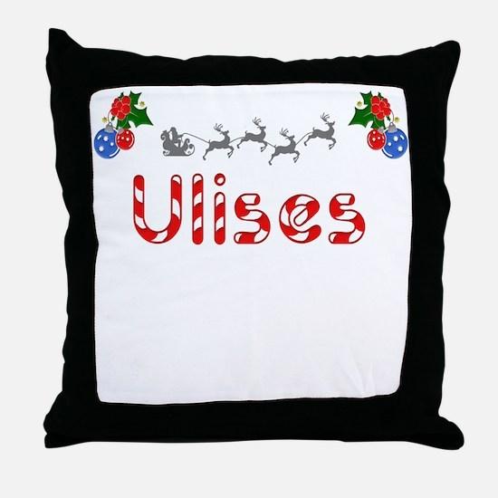 Ulises, Christmas Throw Pillow