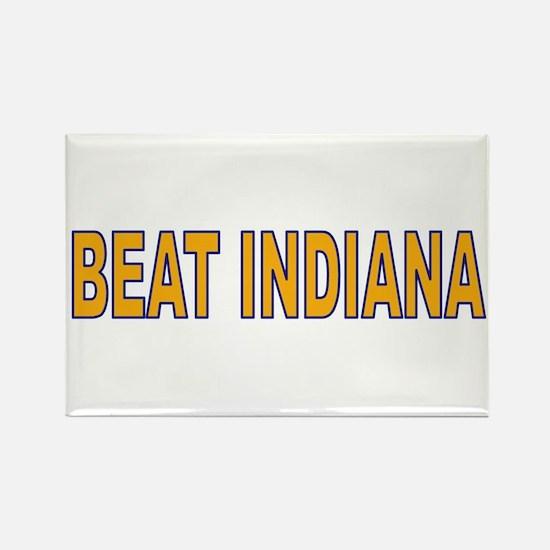 Funny Illinois fighting illini fan wear Rectangle Magnet