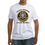 SECOND ARMORED CAVALRY REGIMENT Fitted T-Shirt