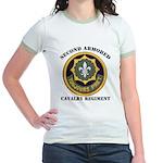 SECOND ARMORED CAVALRY REGIMENT Jr. Ringer T-Shirt