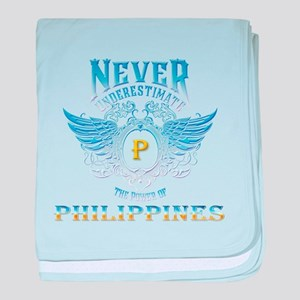 never underestimate the power of Phil baby blanket