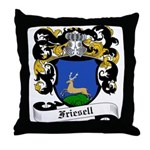Friesell Coat of Arms Throw Pillow