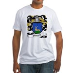 Friesell Coat of Arms Fitted T-Shirt