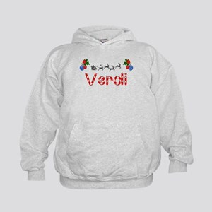 Verdi, Christmas Kids Hoodie