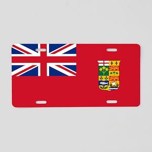 Flag of Canada 1868-1921 Aluminum License Plate