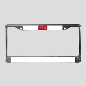 Flag of Canada 1868-1921 License Plate Frame