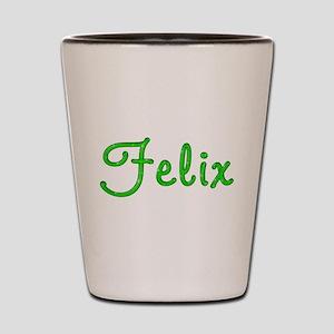Felix Glitter Gel Shot Glass