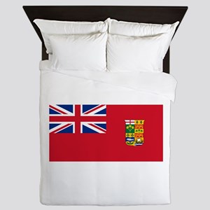 Flag of Canada 1868-1921 Queen Duvet