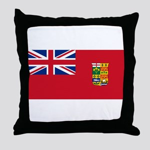 Flag of Canada 1868-1921 Throw Pillow