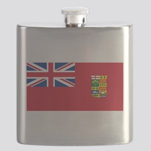 Flag of Canada 1868-1921 Flask
