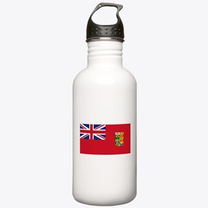 Flag of Canada 1868-1921 Stainless Water Bottle 1.