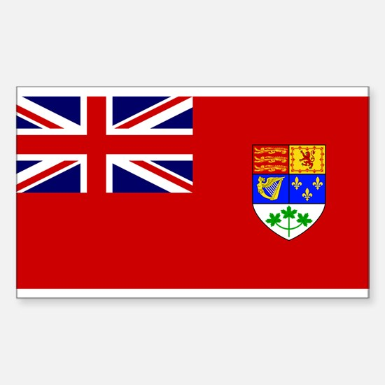 Flag of Canada 1921 - 1957 Sticker (Rectangle)
