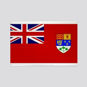 Flag of Canada 1921 - 1957 Rectangle Magnet
