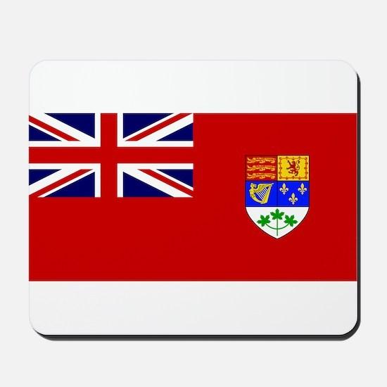 Flag of Canada 1921 - 1957 Mousepad