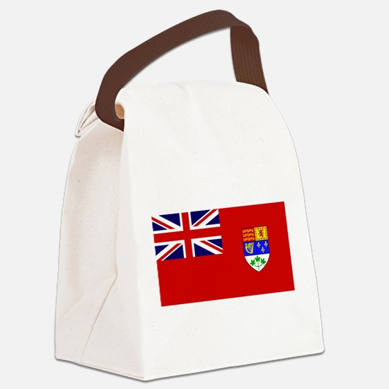 Flag of Canada 1921 - 1957 Canvas Lunch Bag