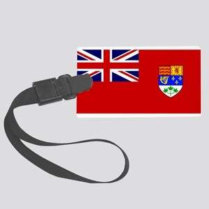 Flag of Canada 1921 - 1957 Large Luggage Tag