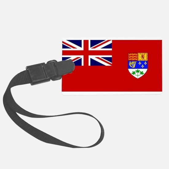 Flag of Canada 1921 - 1957 Luggage Tag