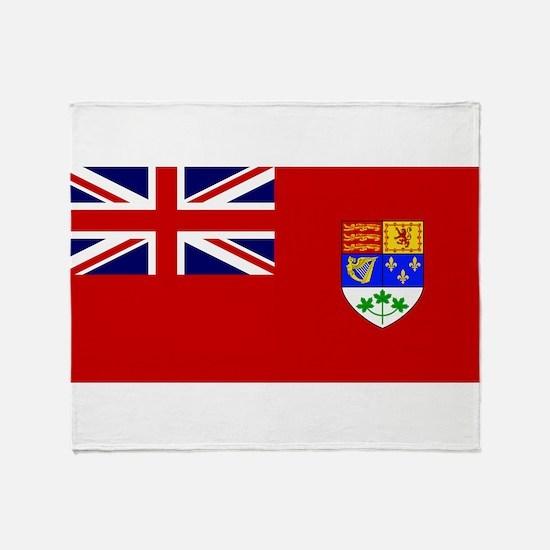 Flag of Canada 1921 - 1957 Throw Blanket