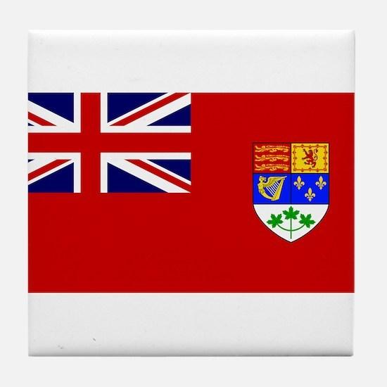 Flag of Canada 1921 - 1957 Tile Coaster