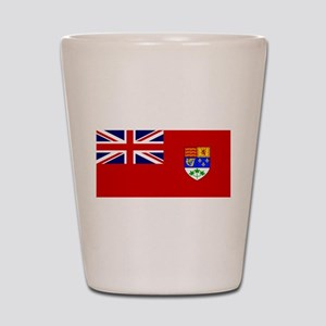 Flag of Canada 1921 - 1957 Shot Glass