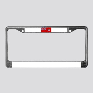 Flag of Canada 1957 - 1965 License Plate Frame