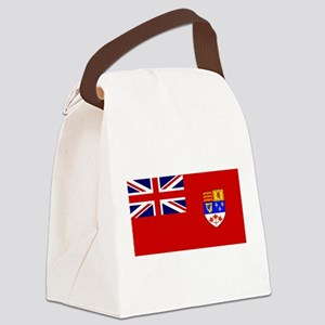Flag of Canada 1957 - 1965 Canvas Lunch Bag