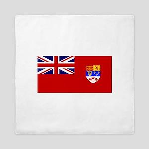 Flag of Canada 1957 - 1965 Queen Duvet