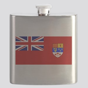 Flag of Canada 1957 - 1965 Flask
