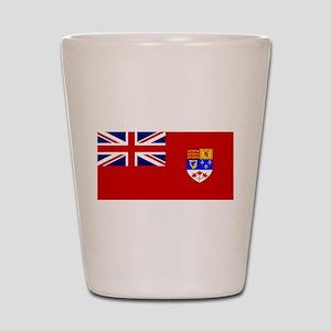 Flag of Canada 1957 - 1965 Shot Glass