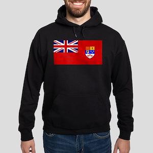 Flag of Canada 1957 - 1965 Hoodie (dark)
