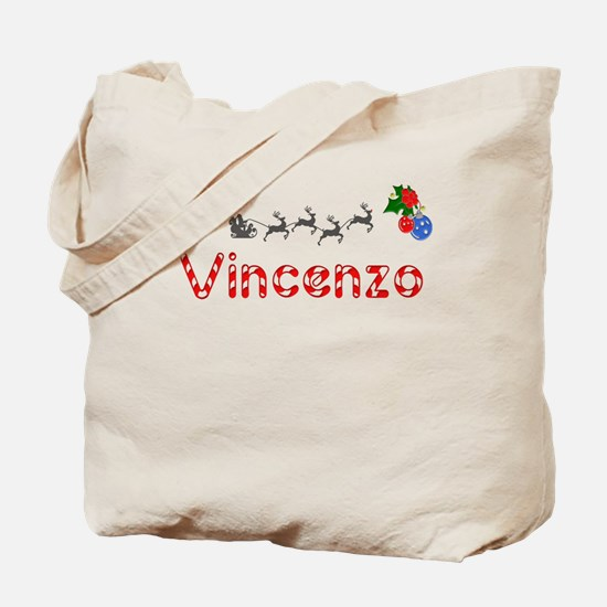 Vincenzo, Christmas Tote Bag