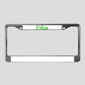 Ethan Glitter Gel License Plate Frame