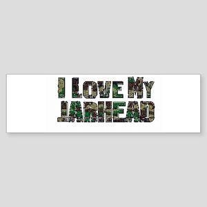 Love My Jarhead Bumper Sticker