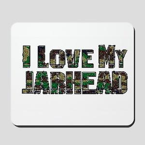 Love My Jarhead Mousepad