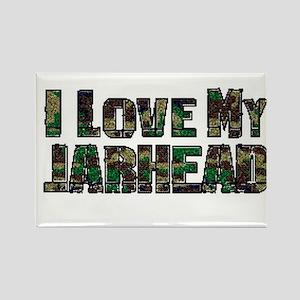 Love My Jarhead Rectangle Magnet