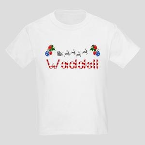 Waddell, Christmas Kids Light T-Shirt