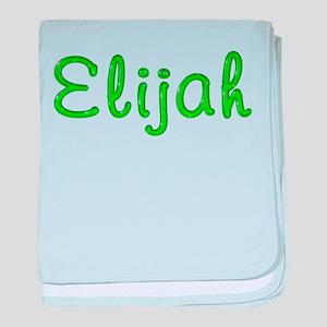 Elijah Glitter Gel baby blanket