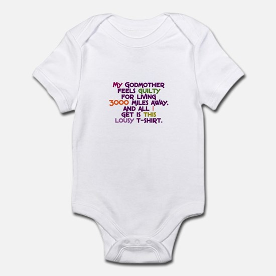 My Godmother Feels Guilty Infant Bodysuit
