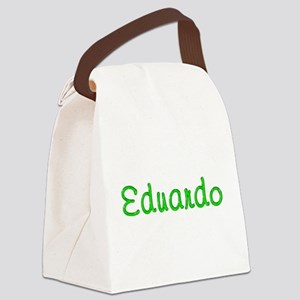 Eduardo Glitter Gel Canvas Lunch Bag