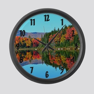 Misery pond Large Wall Clock