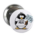 Pluto Penguin Button