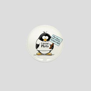 Pluto Penguin Mini Button
