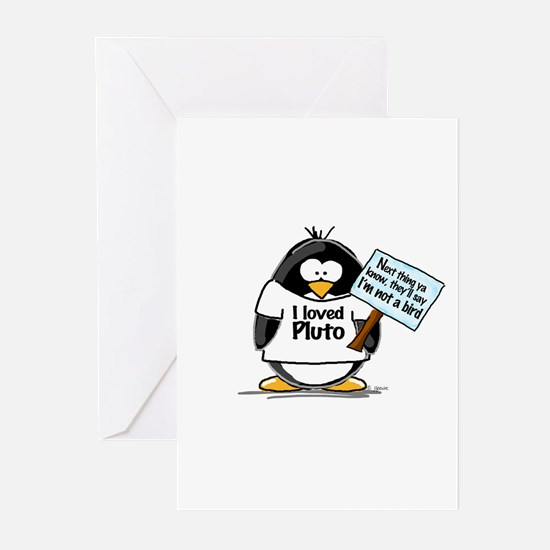 Pluto Penguin Greeting Cards (Pk of 10)