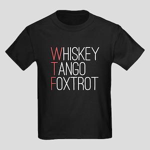 'WTF' Kids Dark T-Shirt