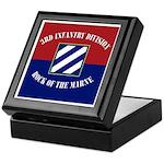 3ID Flag Banner Keepsake Box
