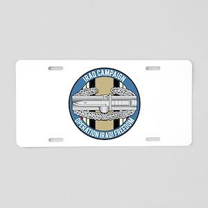 Iraq CAB Aluminum License Plate