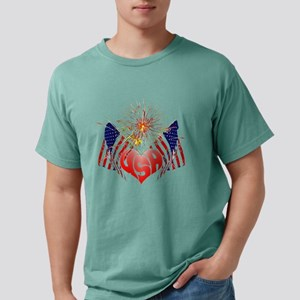 Celebrate USA Mens Comfort Colors Shirt